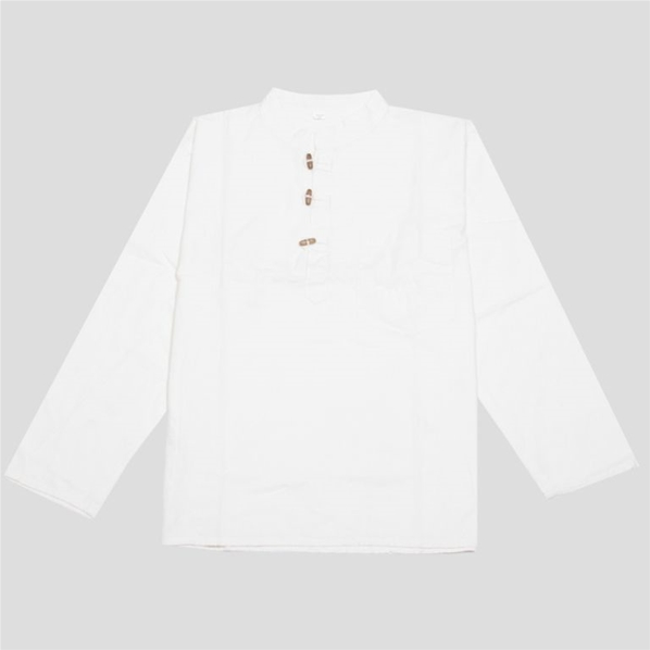 Chemise manches longues blanche