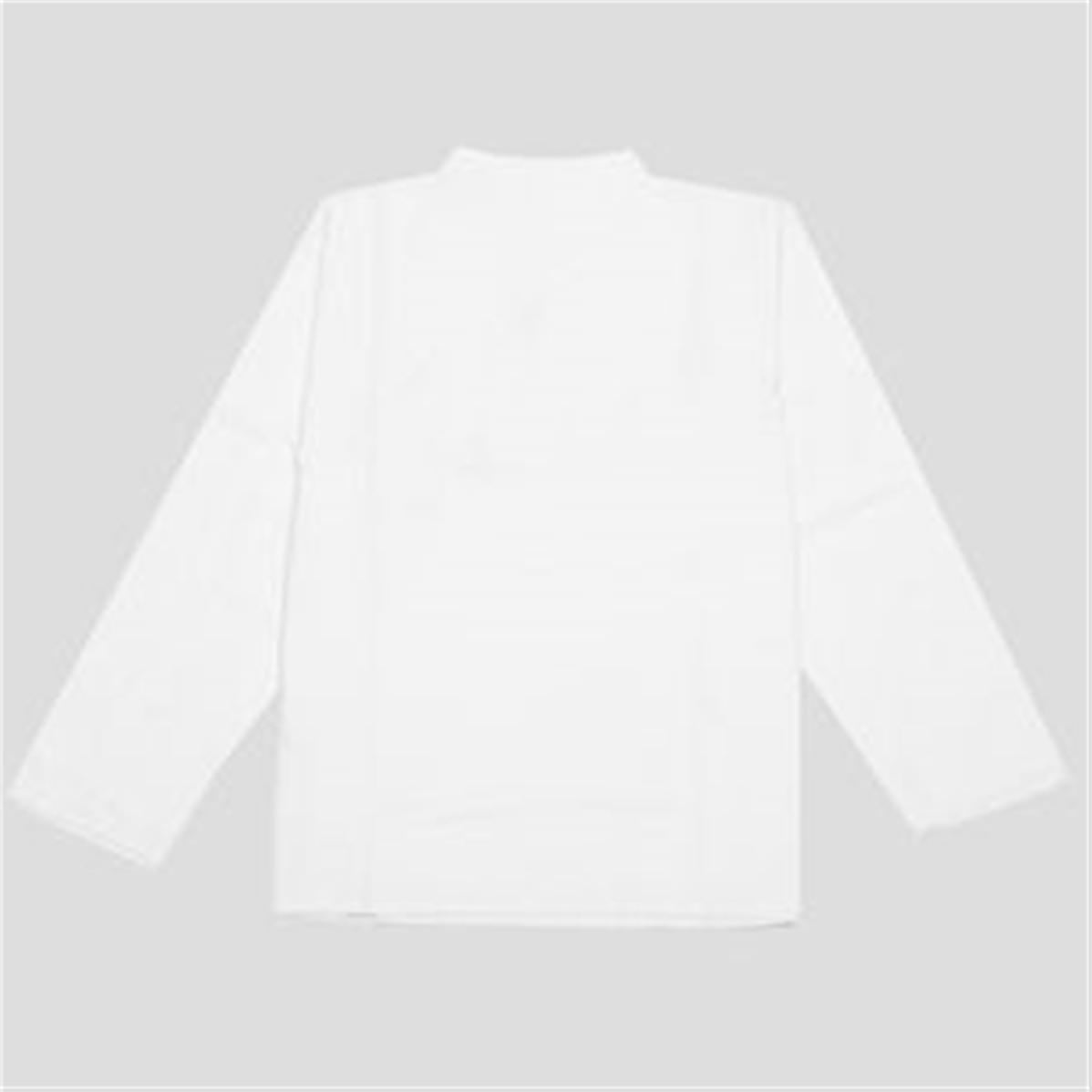 chemise blanche col mao chic et sobre. Black Bedroom Furniture Sets. Home Design Ideas