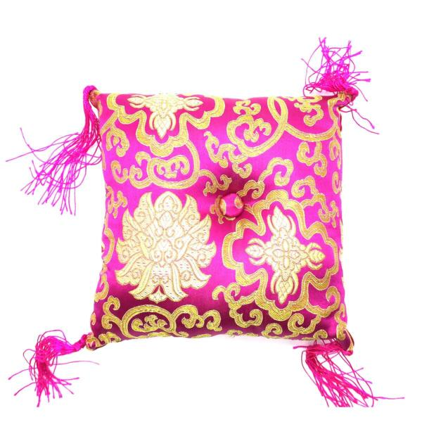 Tchokati - coussin taille medium rose pour bol chantant